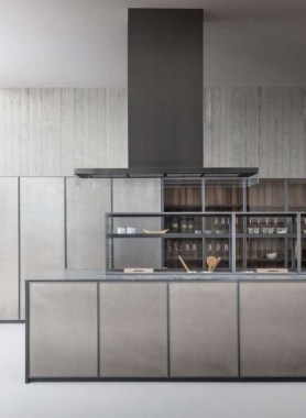20 Linear Fitted Kitchen From Zampieri Is Style Personified 19