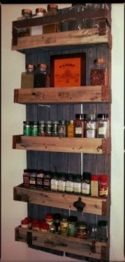 20 Well Organized Spices Arrangement In Your Kitchen 18