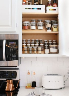 20 Well Organized Spices Arrangement In Your Kitchen 30