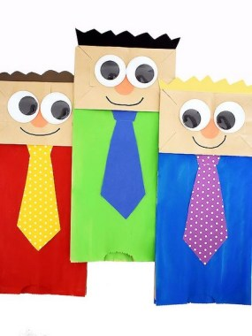 21 Easy DIY Puppet Crafts For Your Kids 07