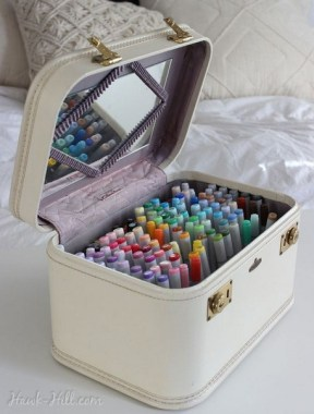 21 Functional DIY Stationery Storage To Have A Good Organizer 05