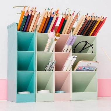 21 Functional DIY Stationery Storage To Have A Good Organizer 20