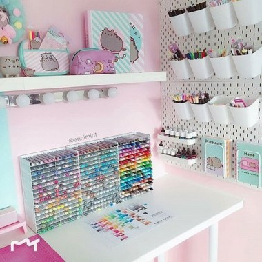 21 Functional DIY Stationery Storage To Have A Good Organizer 22