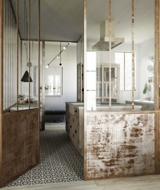 21 Small 18th Century Apartment Redeveloped For A Modern Lifestyle 05