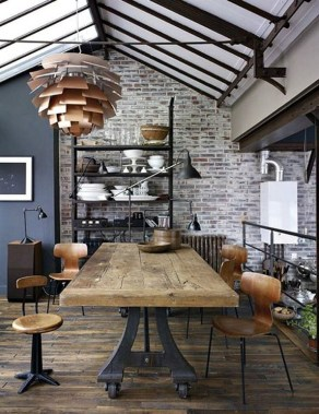 21 Stylish Rustic Industrial Decor Accents To Take In Consideration 22