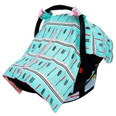 17 Gorgeous DIY Baby Car Seat Cover Ideas 25