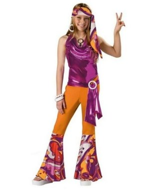 18 Cool DIY Hippie Costume For Your Kids To Look Unique And Fabulous 03