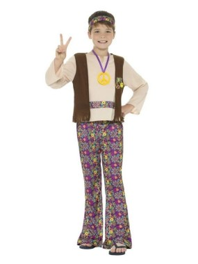 18 Cool DIY Hippie Costume For Your Kids To Look Unique And Fabulous 18