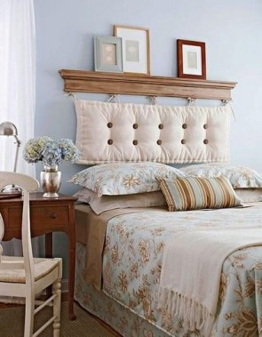 18 Creative Ideas To DIY Your Bed Headboard 06