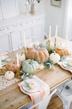 18 DIY Centerpiece Ideas To Beautify Your Dining Room This Fall 18