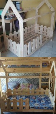 19 Functional DIY Old Wood Pallets Ideas 15