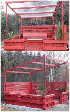 19 Functional DIY Old Wood Pallets Ideas 27