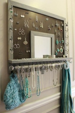 19 Jewelry Organizer That Easy To Make Without Breaking The Bank 14