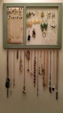 19 Jewelry Organizer That Easy To Make Without Breaking The Bank 22