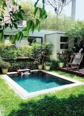 19 Small Backyard Designs With Swimming Pool That You'll Love 12