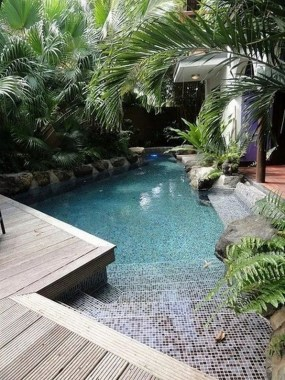 19 Small Backyard Designs With Swimming Pool That You'll Love 21