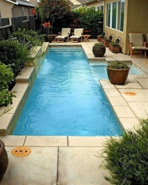 19 Small Backyard Designs With Swimming Pool That You'll Love 29