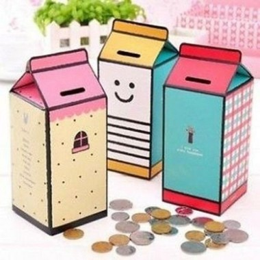 20 Creative DIY Coin Bank Ideas To Teach Your Kids Saving Their Money 04