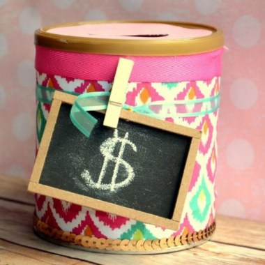 20 Creative DIY Coin Bank Ideas To Teach Your Kids Saving Their Money 28