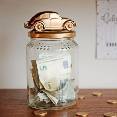 20 Creative DIY Coin Bank Ideas To Teach Your Kids Saving Their Money 29