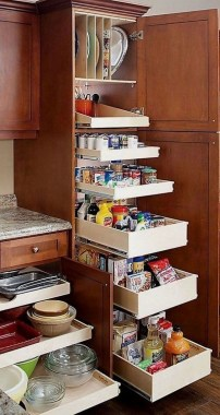 20 Easy DIY Kitchen Cabinet Customize Ideas 21