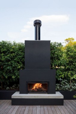 21 Beautiful Outdoor Fireplace Design Ideas 29