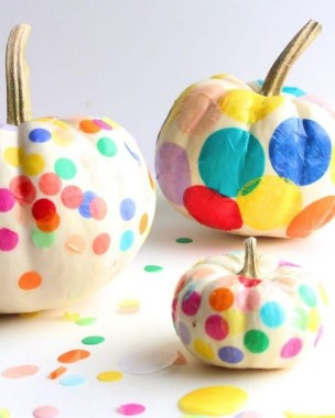 21 Easy DIY No Carve Pumpkin Craft Ideas 04