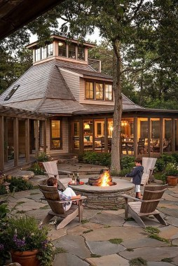 21 Patio Design Ideas With Stones To Bring A Sophisticated Look 18