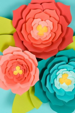 21 Simple DIY Paper Flower For Your Home Decoration 26