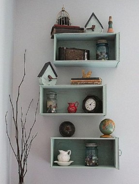 22 Sophisticated Shelves That Made From Upcycled Materials That You Can Try 07