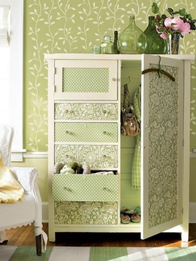 23 Furniture That Look Brand New With Wallpaper Hack To Inspire You 04