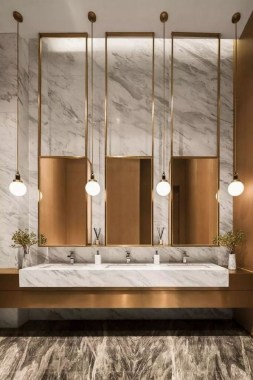 24 Elegant Bathroom Lighting That Enhance Your Bathroom's Elegant Appeal 03