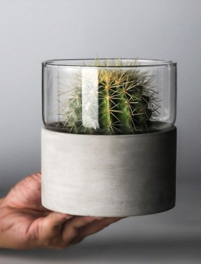 25 Modern DIY Concrete Crafts For Spring Decoration That Easy To Make 12