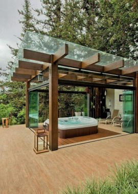 18 Most Mesmerizing Hot Tub Cover Ideas For Ultimate Relaxing Time 16