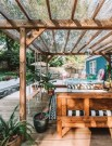 21 Beautiful Outdoor Space With Canopy Designs 13