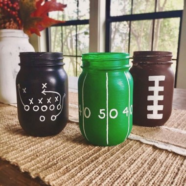 21 DIY Super Bowl Celebration Decoration Craft Ideas 20