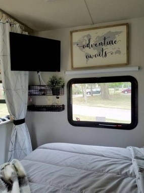 21 RV Living Decor To Make Road Trip So Awesome 04