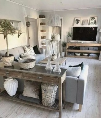 21 Rustic Farmhouse Living Room Decor Ideas 06