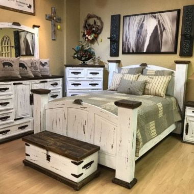 25 Awesome Rustic Bedroom Furniture Ideas To Get The Farmhouse Charm 19