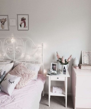 26 Chic Teenage Girl Bedroom Decorating Ideas 26