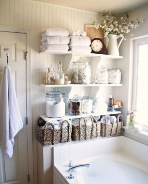 27 Built In Bathroom Shelf And Storage Ideas To Keep Your Bathroom Organized 26