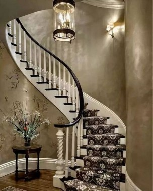 27 Carpeted Staircase Ideas That Will Add Texture And Warmth To Your Home 23