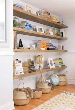27 DIY Bookshelf Designs From Unused Goods 20