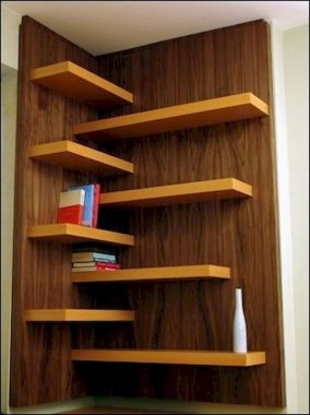 27 DIY Bookshelf Designs From Unused Goods 24