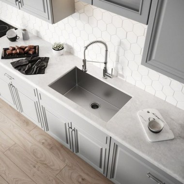 27 Modern Minimalist Kitchen Sink Ideas 26