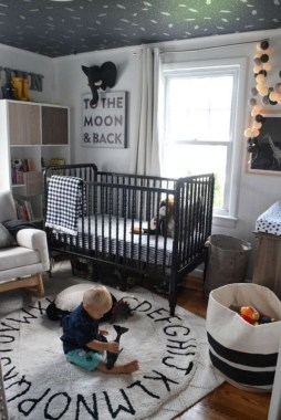 28 Unique Baby Boy Nursery Room With Animal Design 18