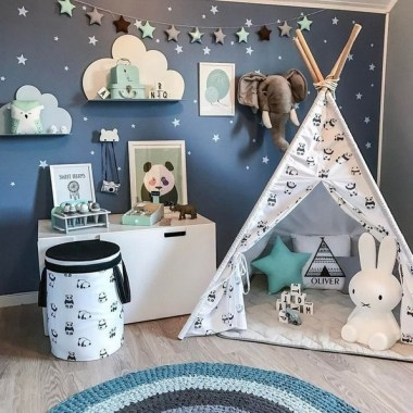 28 Unique Baby Boy Nursery Room With Animal Design 20