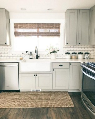 29 Stunning Ways To Upgrade Your Plain And Boring Kitchen Cabinets 09