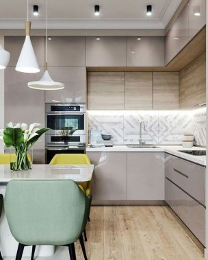 29 Stunning Ways To Upgrade Your Plain And Boring Kitchen Cabinets 32