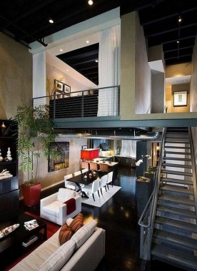 30 Amazing Interior Design Ideas For Modern Loft 26